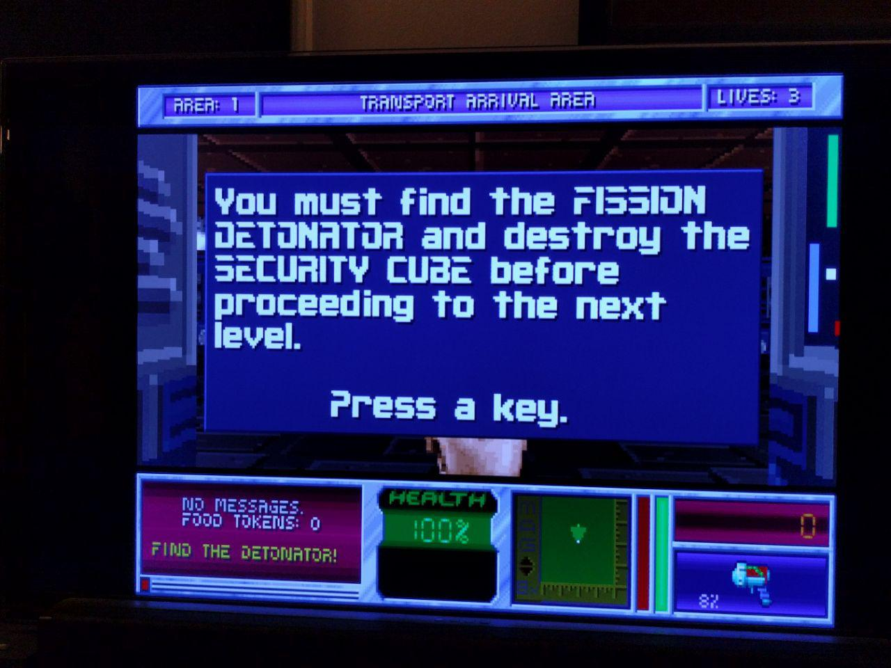 DOS Game System Project